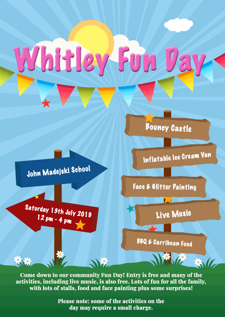 Whitley Fun Day Poster